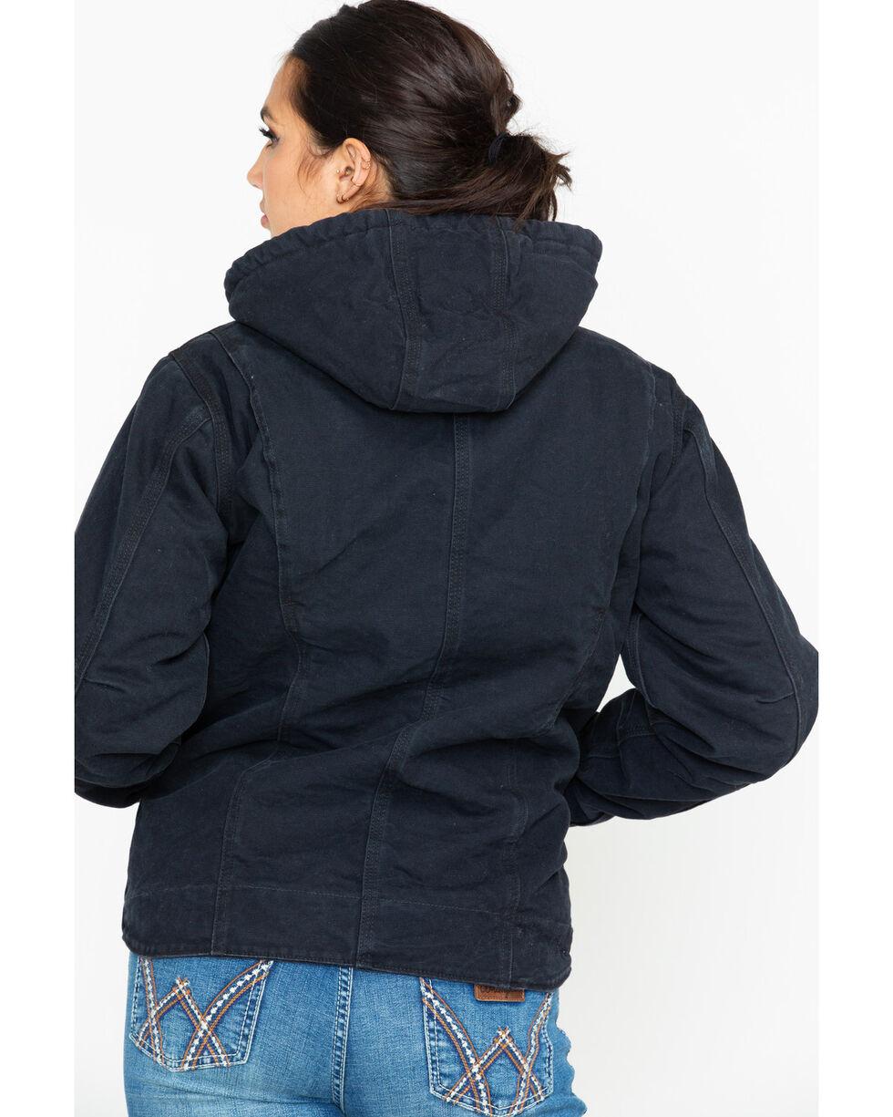 Carhartt Women's Sandstone Sierra Sherpa Lined Jacket, Black, hi-res