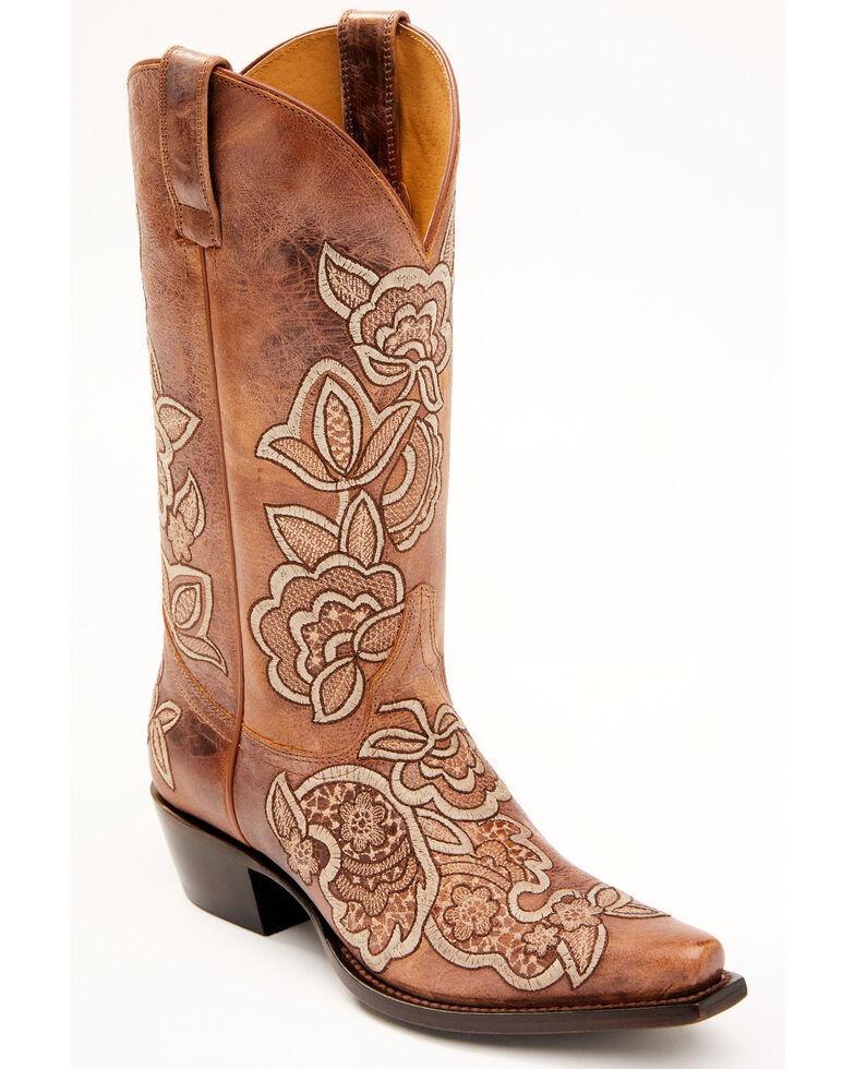 Shyanne Women's Sienna Western Boots - Snip Toe, Tan, hi-res