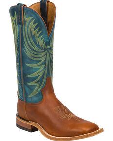 Tony Lama Men's Suntan Rebel Western Boots, Suntan, hi-res