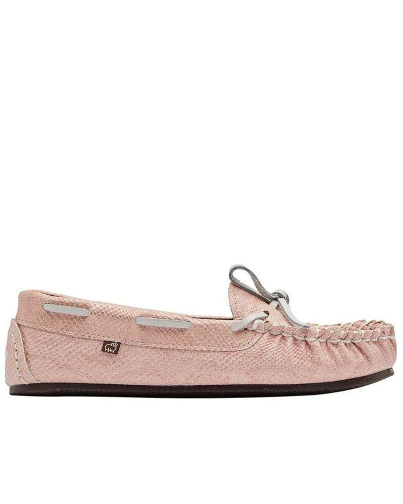 Lamo Footwear Women's Pink Sabrina II Slippers - Moc Toe, Pink, hi-res