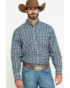 Ariat Men's Keene Multi Plaid Long Sleeve Western Shirt , Multi, hi-res