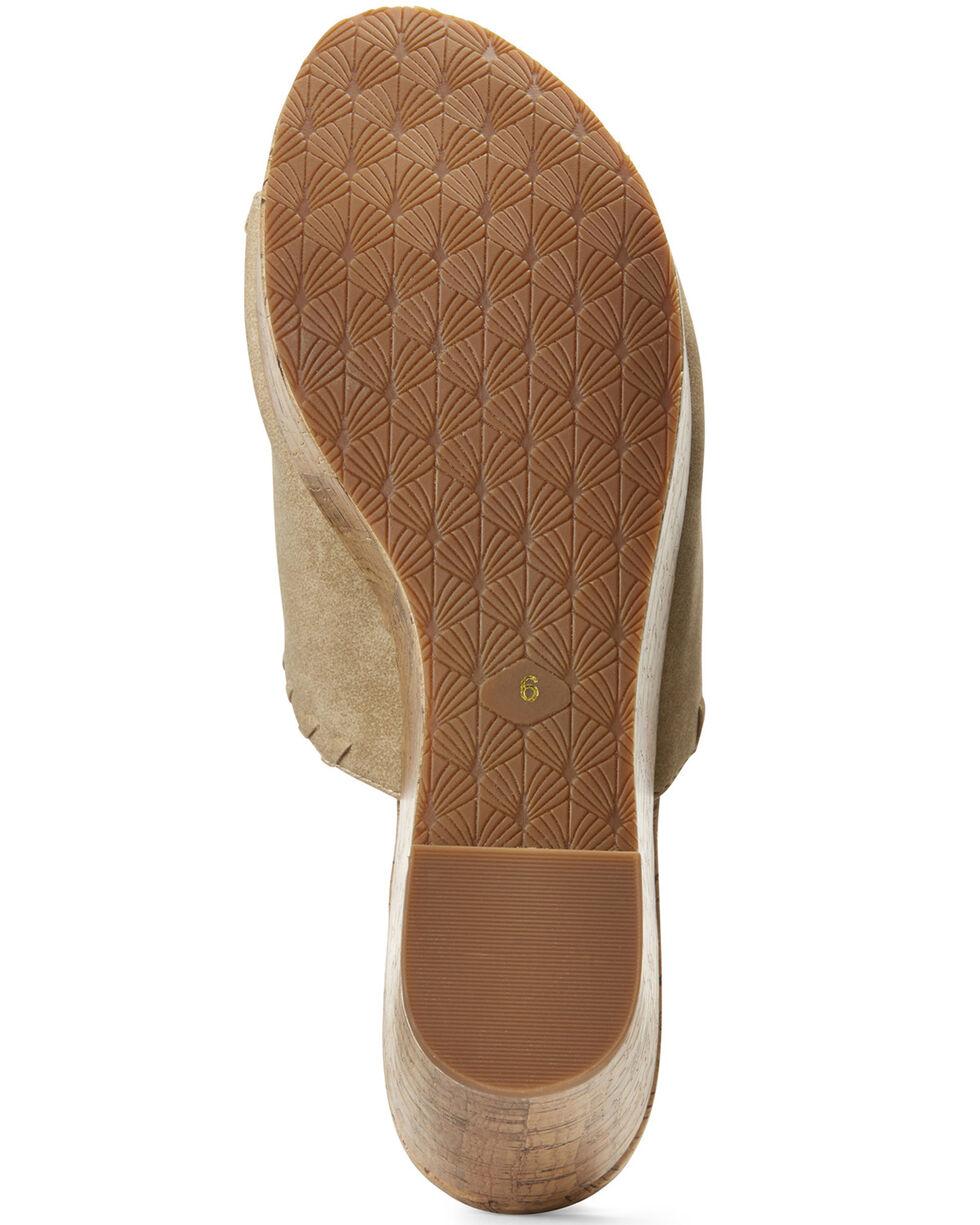 Ariat Women's Unbridled Layla Sandals, Tan, hi-res