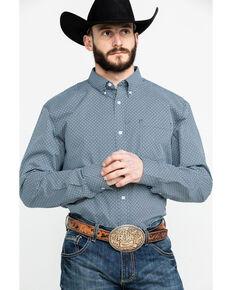 f1c1edc8 Cody James Core Men's Gem Geo Print Long Sleeve Western Shirt - Tall