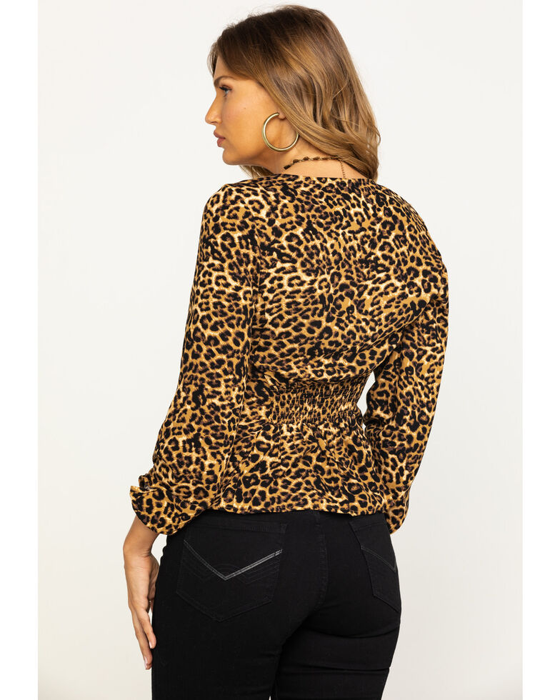 Idyllwind Women's On The Prowl Shirt, Leopard, hi-res