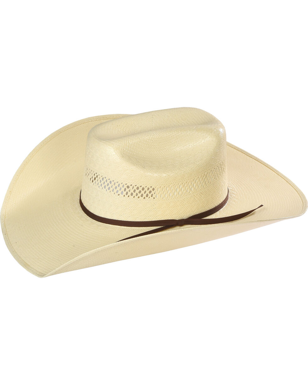 Resistol Men's Rock Creek Promo Straw Hat, Natural, hi-res