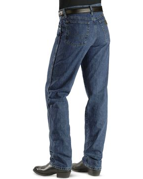 Wrangler Men's Relaxed Cowboy Cut PBR Jeans, Auth Stone, hi-res