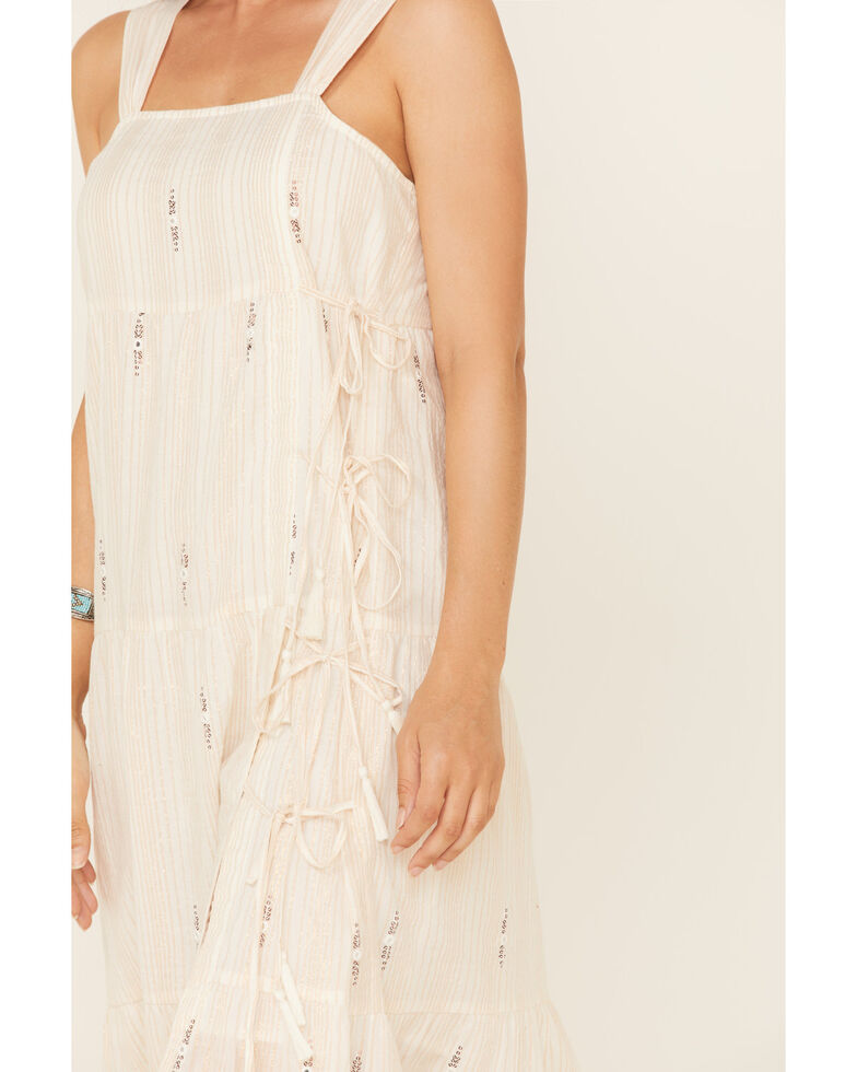 Shyanne Women's Ivory Mirror Maxi Dress, Ivory, hi-res