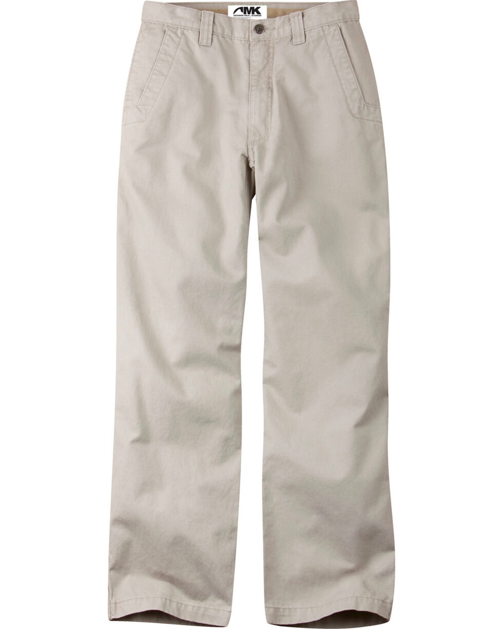 Mountain Khakis Stone Teton Twill Pants - Relaxed Fit, Stone, hi-res