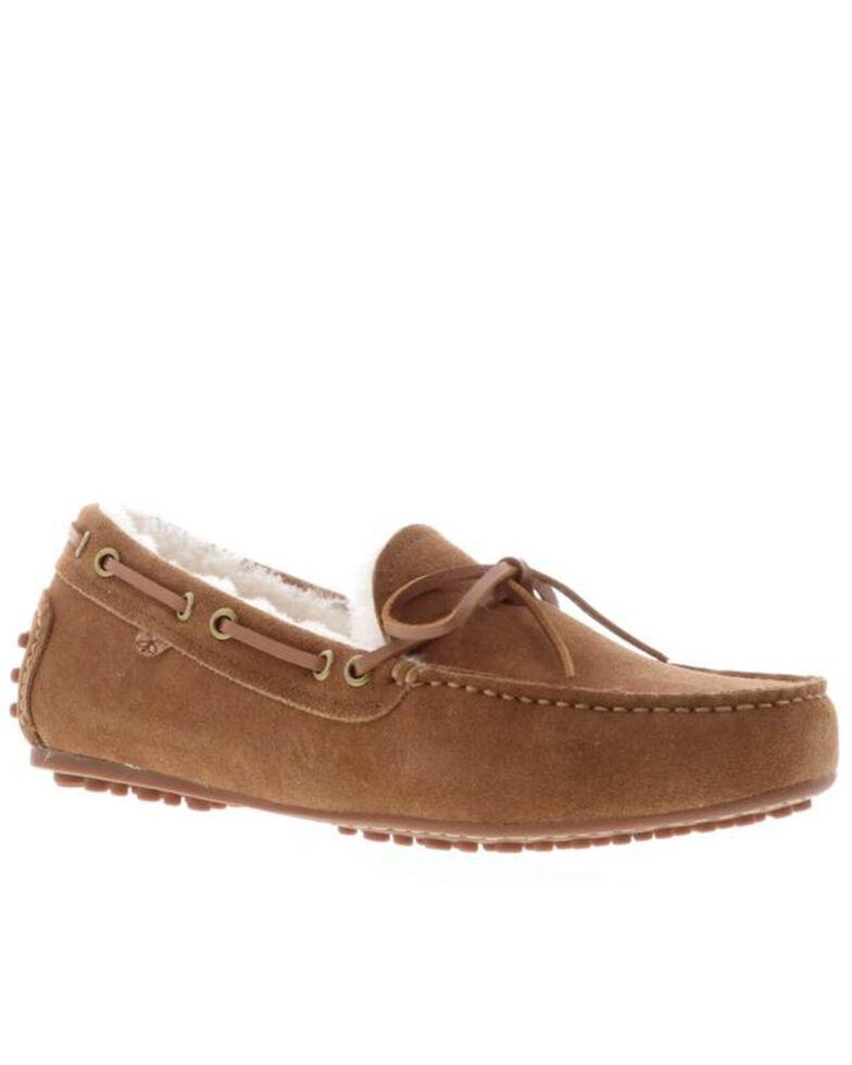Lamo Footwear Women's Georgia Casual Shoes - Moc Toe, Chestnut, hi-res