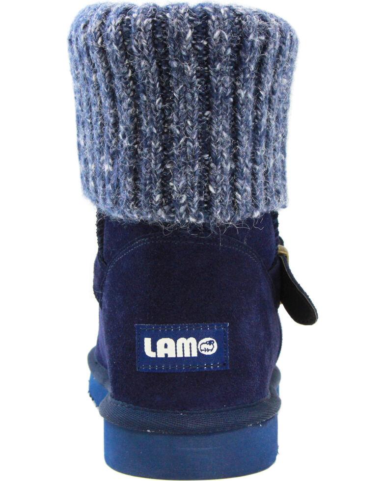 Lamo Footwear Women's Hurricane Boots - Round Toe, Navy, hi-res