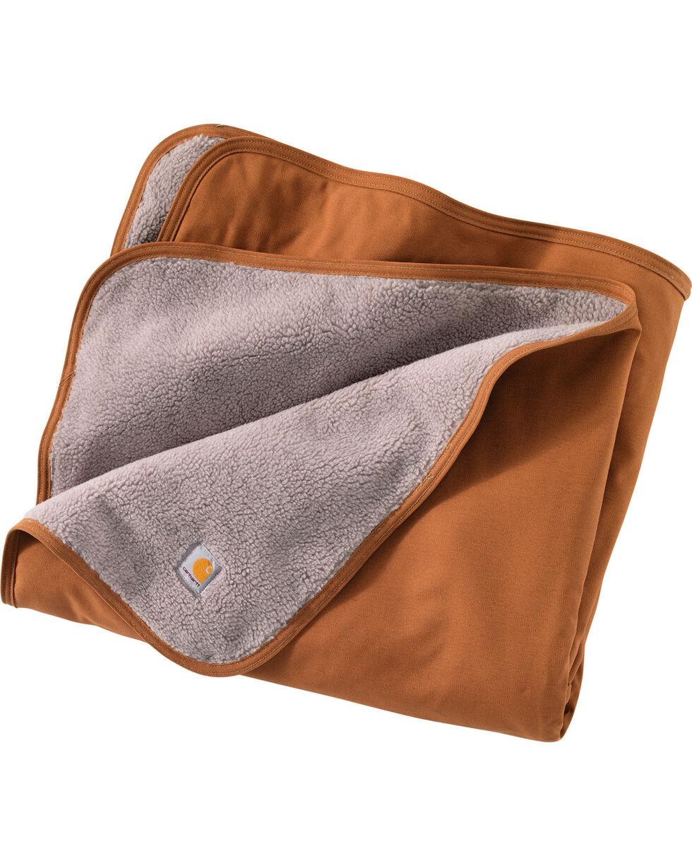 Carhartt Duck & Sherpa Blanket, Carhartt Brown, hi-res