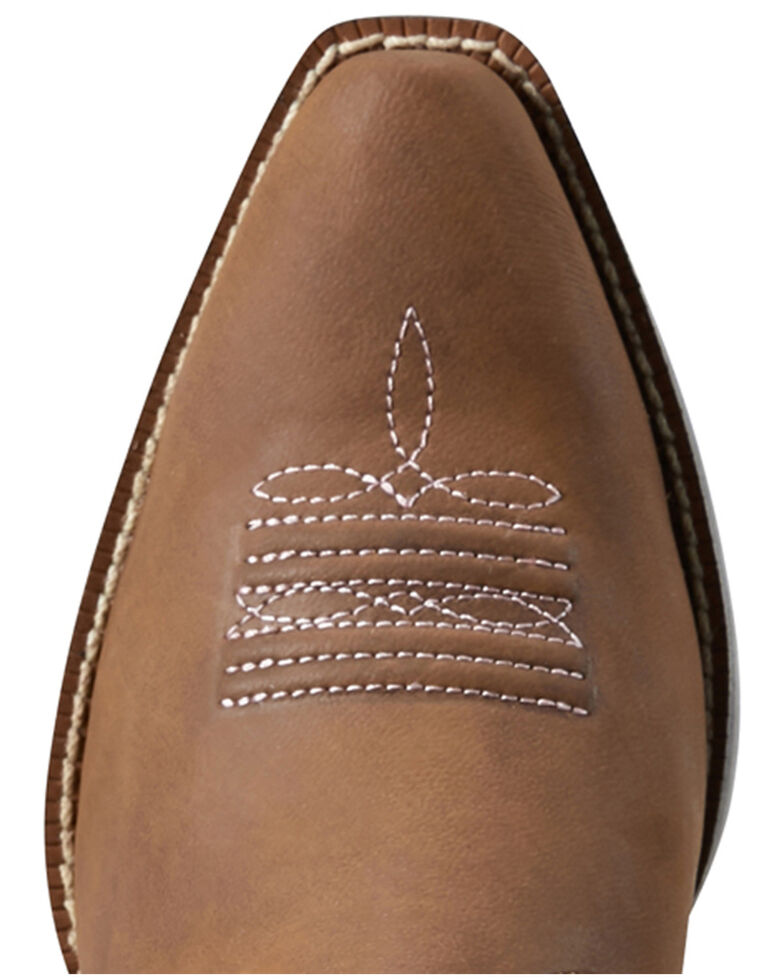 Ariat Youth Boys' Spice Nutmeg Western Boots - Snip Toe, Brown, hi-res