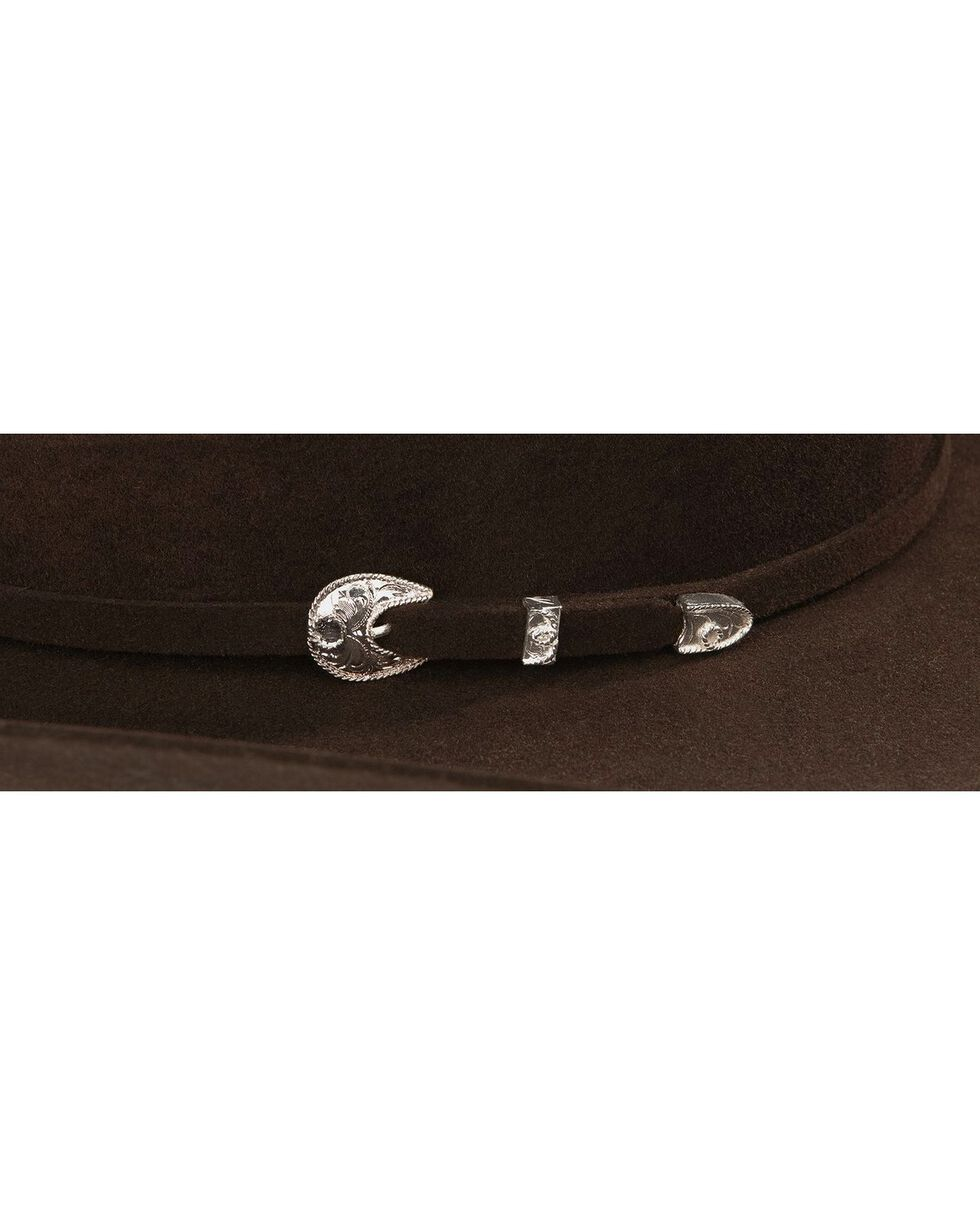 Stetson 4X Corral Wool Felt Cowboy Hat, Chocolate, hi-res