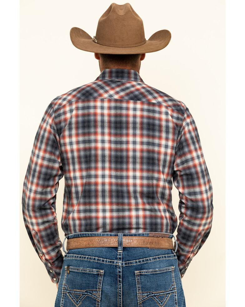 Ariat Men's Kemper Retro Snap Long Sleeve Western Flannel Shirt , , hi-res