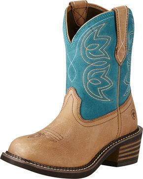 Ariat Women's Charlotte Western Boots, Tan, hi-res