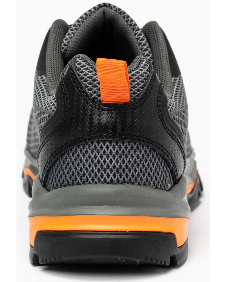 Hawx Men's Athletic Sneaker Work Boots - Composite Toe, Grey, hi-res