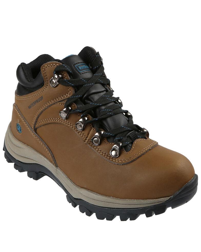 Northside Women's Apex Lite Waterproof Hiking Boots - Soft Toe, Medium Brown, hi-res
