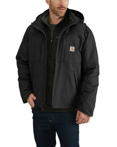 Carhartt Men's Full Swing Cryder Work Jacket - Tall , Black, hi-res