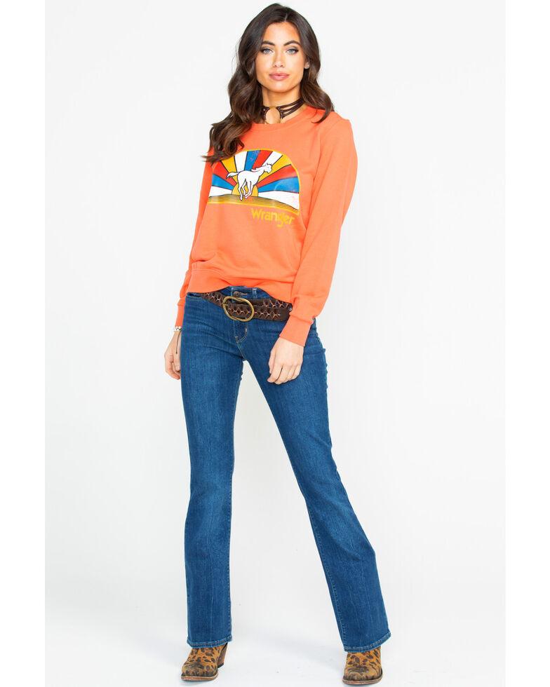 Levi's Women's 715 Vintage Sound of Vision Boot Cut Jeans, Blue, hi-res