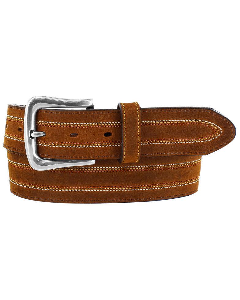 Leegin Men's Brown Americana Belt, Brown, hi-res