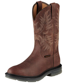 Ariat Men's Maverick II Western Work Boots, Brown, hi-res