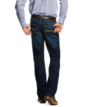Ariat Men's Ellis Salton Dark Wash Jeans, Indigo, hi-res