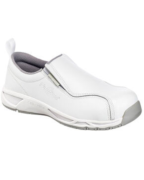 Nautilus Men's Slip Resistant Athletic Work Shoes - Composite Toe, White, hi-res