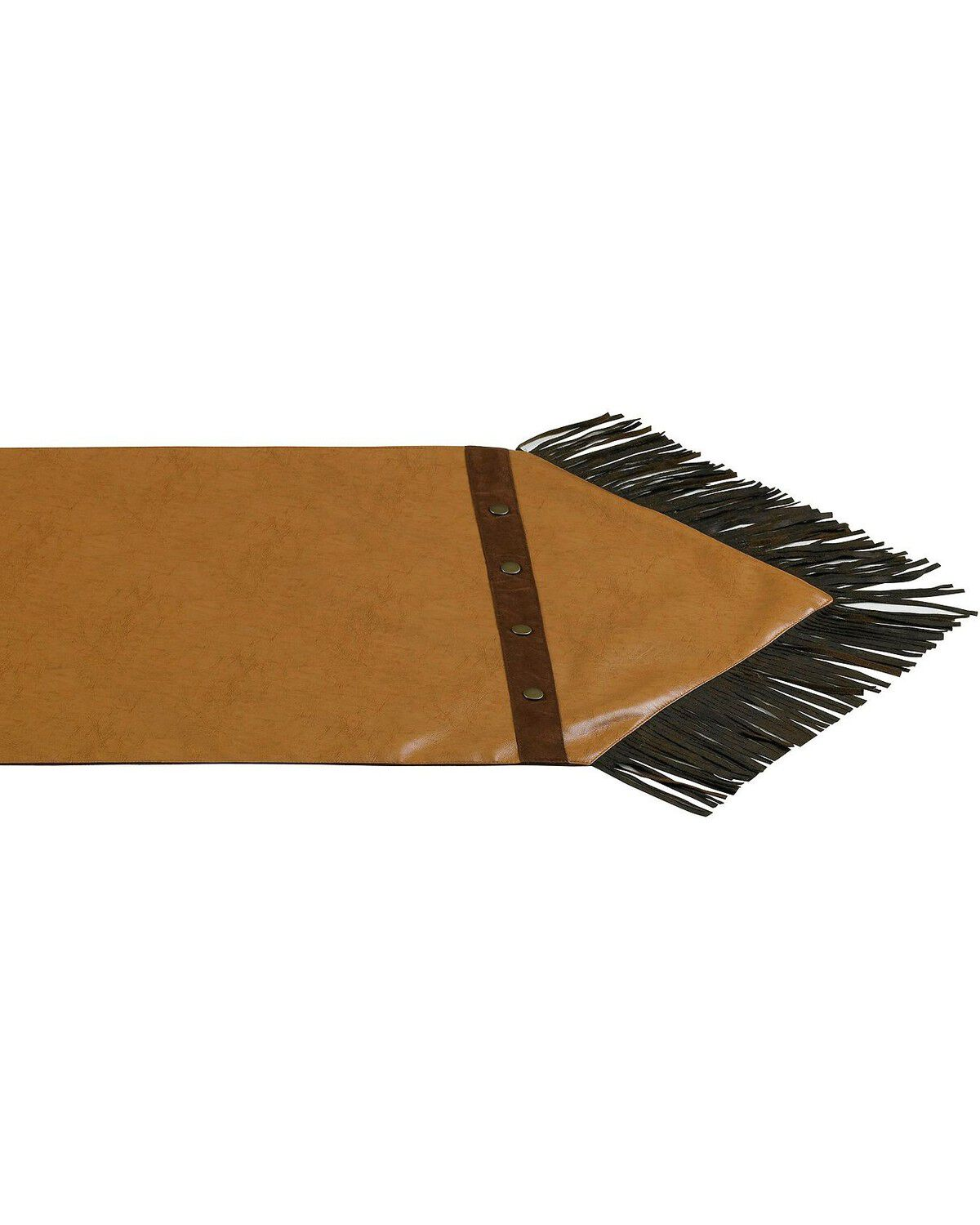 Delicieux Zoomed Image HiEnd Accents Tan Faux Leather Table Runner, Tan, Hi Res