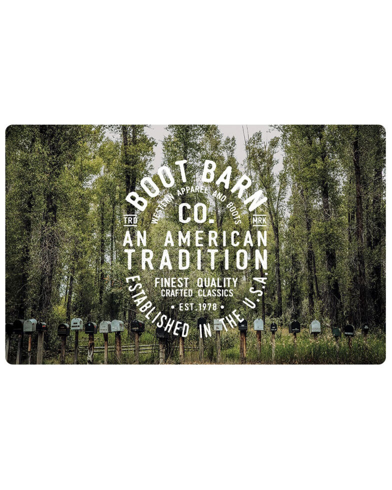 Boot Barn® American Frontier Forest Gift Card, No Color, hi-res