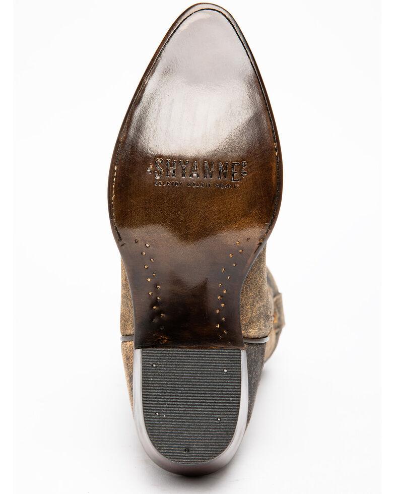Shyanne Women's Hialeah Western Boots - Snip Toe, Brown, hi-res