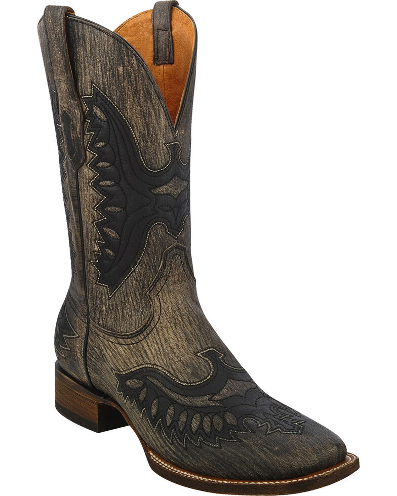 Corral Men's Shaded Eagle Western Boots, Brown, hi-res