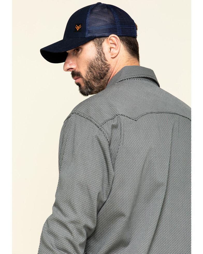Cinch Men's FR Multi Geo Print Long Sleeve Work Shirt , Multi, hi-res