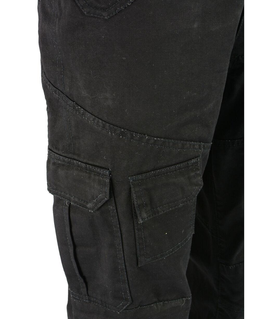 "Milwaukee Performance Men's 32"" Aramid Reinforced Black Cargo Jeans - Big, Black, hi-res"