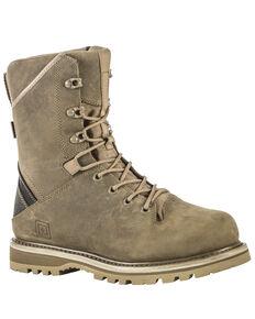 """5.11 Tactical Men's APEX Waterproof 8"""" Boots, Dark Coyote, hi-res"""