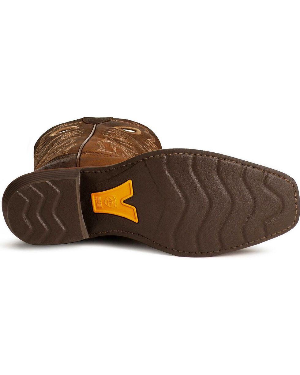 Ariat Men's Heritage Roughstock Western Boots - Narrow Square Toe, Brown, hi-res