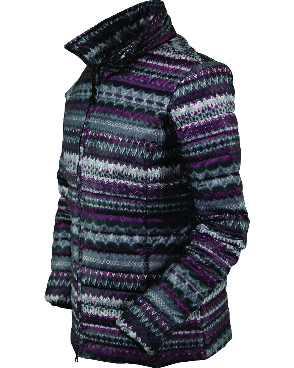 Outback Trading Women's Premium Down Willow Jacket, Purple, hi-res