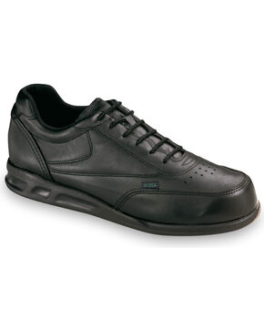 Thorogood Women's American Heritage Postal Certified Athletic Oxfords, Black, hi-res