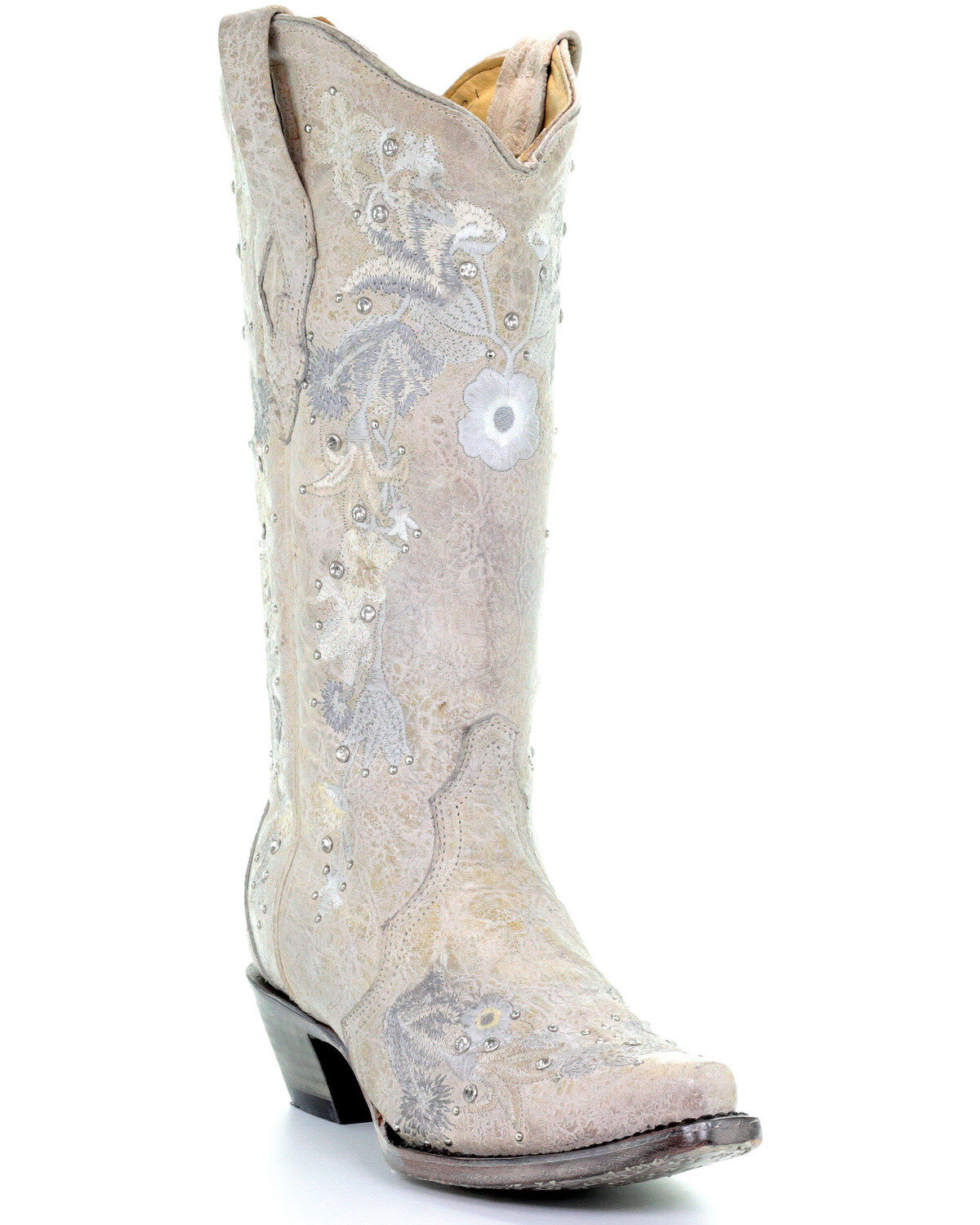 Corral Women's White Floral Embroidered