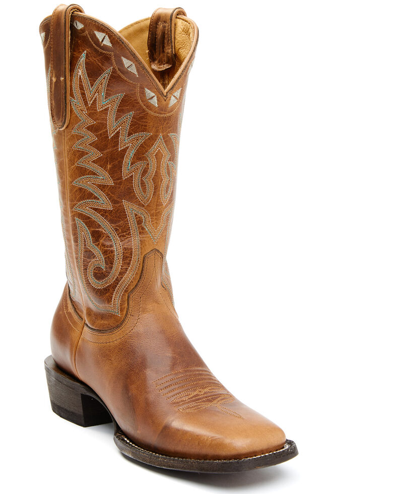 Idyllwind Women's Drifter Western Boots - Wide Square Toe, Tan, hi-res