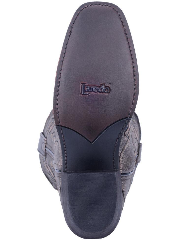 Laredo Women's Queen Of Diamonds Western Boots - Square Toe, Black, hi-res