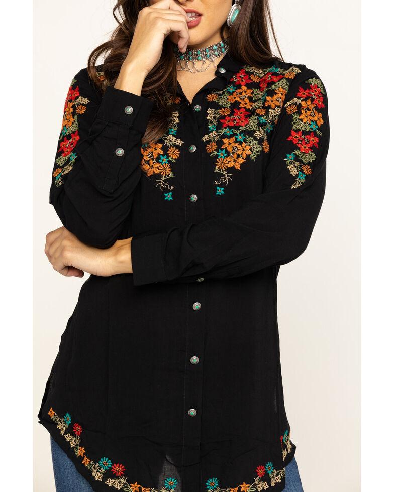 Tasha Polizzi Women's Black Avery Tunic, Black, hi-res