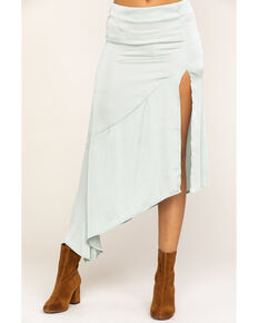 Free People Women's Lola Skirt, Blue, hi-res