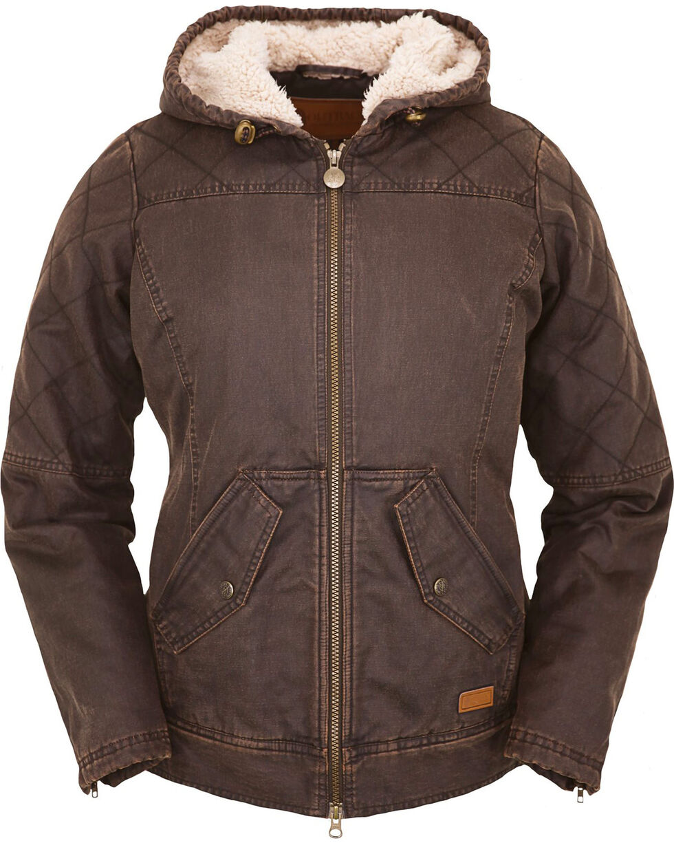 Outback Trading Co. Women's Heidi Canyonland Jacket, Brown, hi-res