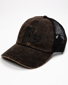 Moonshine Spirit Men's Black Wing It Logo Cap , Black, hi-res