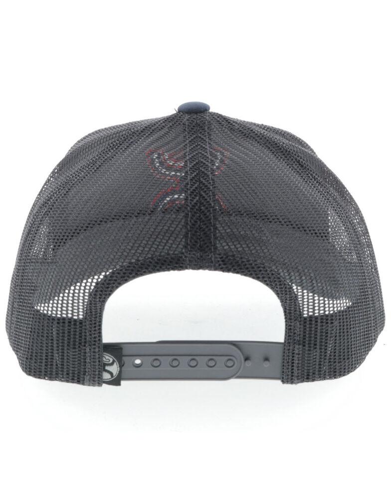 HOOey Men's Grey Sterling Mesh Ball Cap , Grey, hi-res