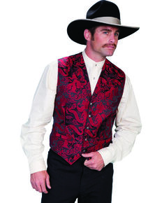 Rangewear by Scully Men's Dragon Vest, Red, hi-res