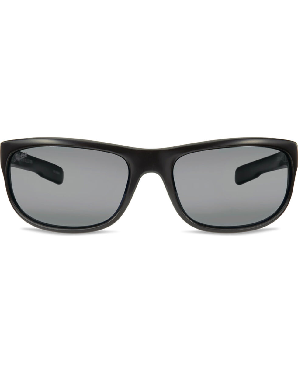 Hobie Men's Satin Black Polarized Cruz Sunglasses  , Black, hi-res