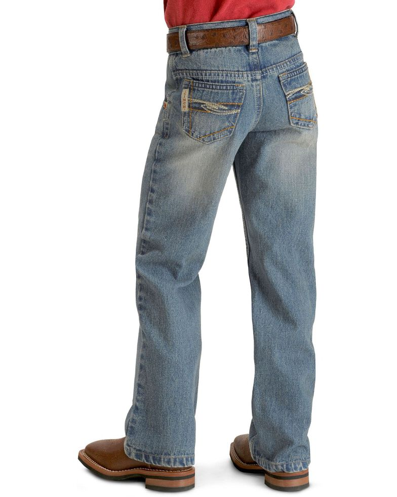 Cinch  Boys' Tanner Regular Cut Jeans - 4-7  , Denim, hi-res