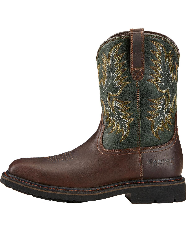 Ariat Men's Sierra Steel Toe Work Boots