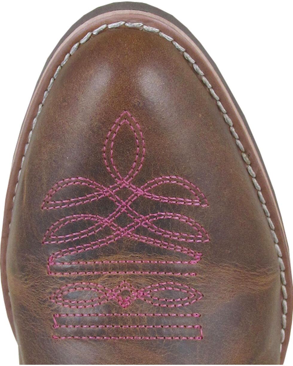 Smoky Mountain Helena Brown Fringe Cowgirl Boots - Medium Toe, , hi-res